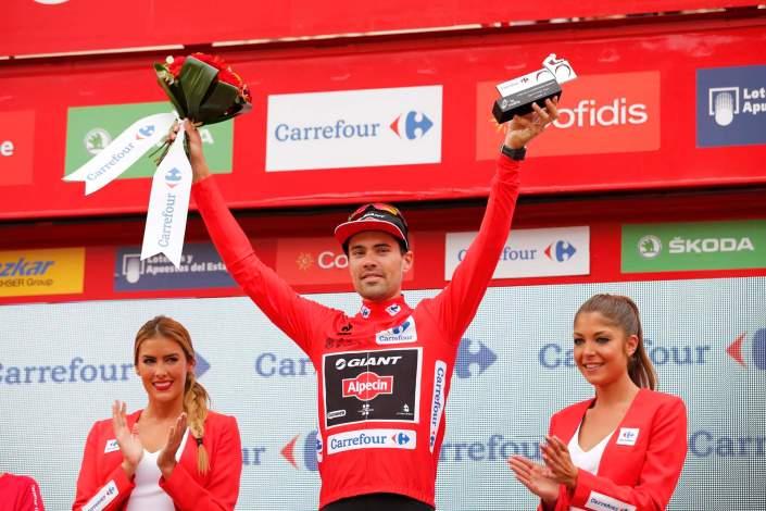 9 September 2015 70th Vuelta a Espana Stage 17 : Burgos - Burgos ITT DUMOULIN Tom (NED) Giant - Alpecin, Maillot Rojo Photo : Yuzuru SUNADA