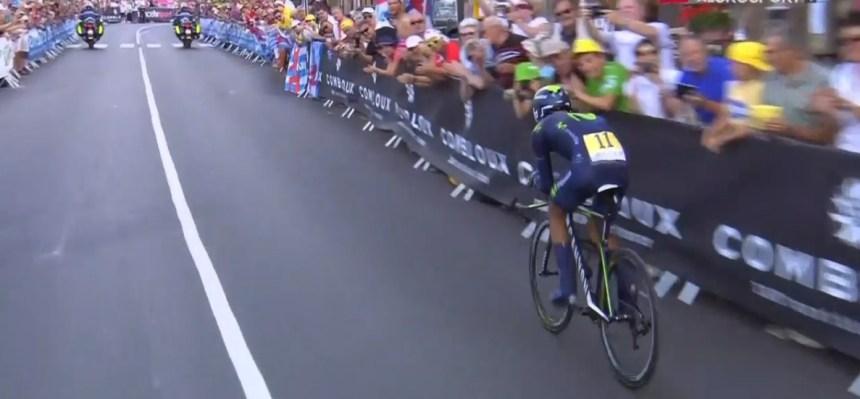 Dünkü etabın kaybedeni kesinlikle Nairo Quintana idi.