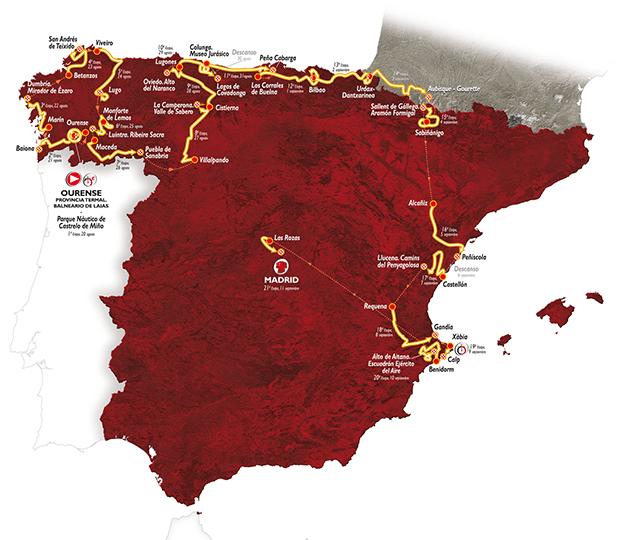 LaVuelta2016_route