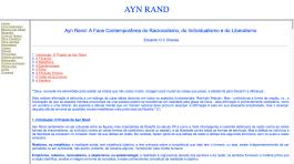 Ayn Rand Old Site - 03 - Resumo de Ideias