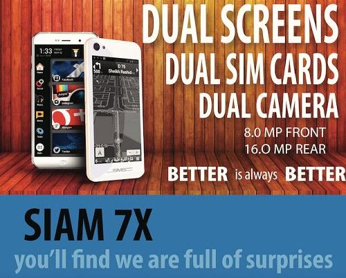 Smartphone Terbaru Dengan Dual Screen Pertama Di Dunia