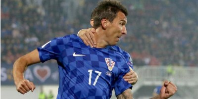 Mario Mandzukic Cetak Hattrick untuk Kroasia