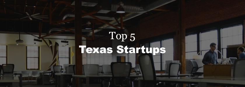 Top 5 VC funded companies in Texas