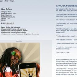 iPhone App T-pain