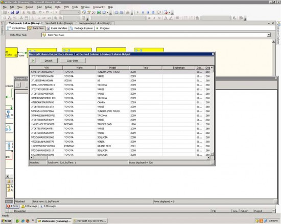 SQL Server Intergration debugging tools