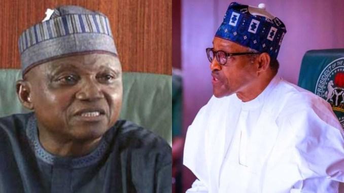 Garba Shehu and President Buhari