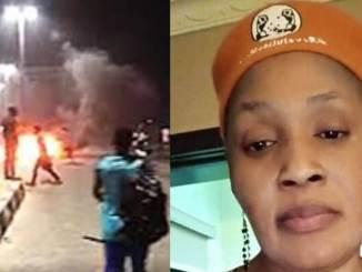 "#EndSARS: ""Nobody Died At Lekki Tollgate"" - Kemi Olunloyo"