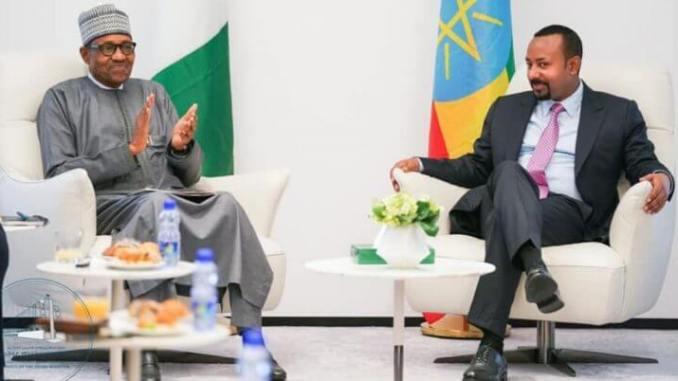 Nigeria President, Muhammadu Buhari Sues For And Stability In Ethiopia