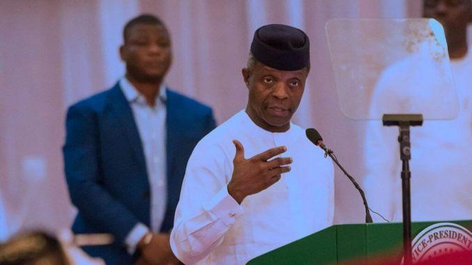 Nigeria Is Strong As One, No Region Is Better Off Alone - VP Yemi Osinbajo