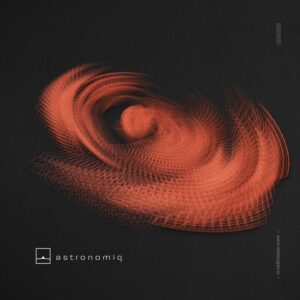 Graphic design trends 2020 example: Abstract, thin-lined geometric design