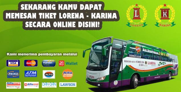 tiket online bus lorena