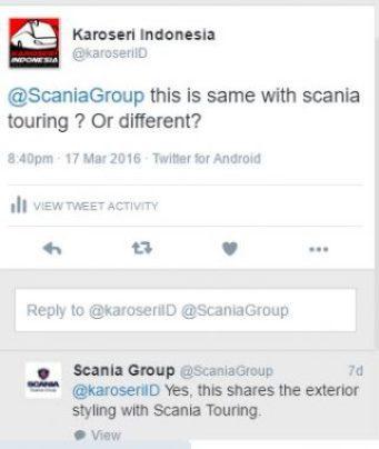 Scania interlink model