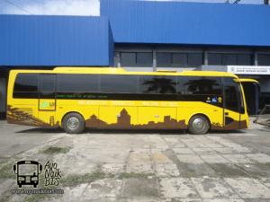 Bus listrik Universita Indonesia Molina EV-BUS
