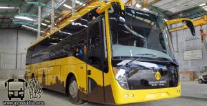 Bus listrik UI Molina Front
