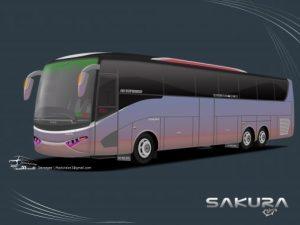 Desain bus terbaru