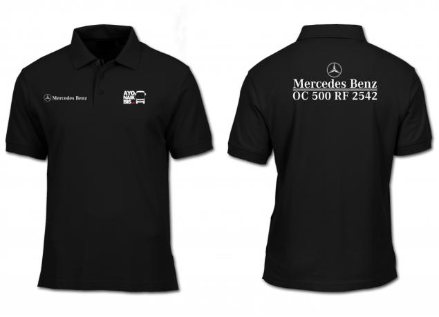 Kaos Polo Mercedes Benz