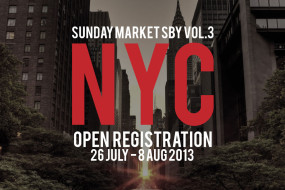 SundayMarketNYC Open registration