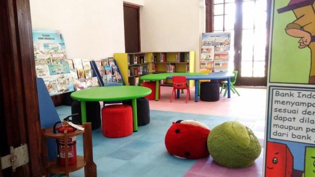 Perpustakaan anak-anak. Foto: Erlin Goentoro