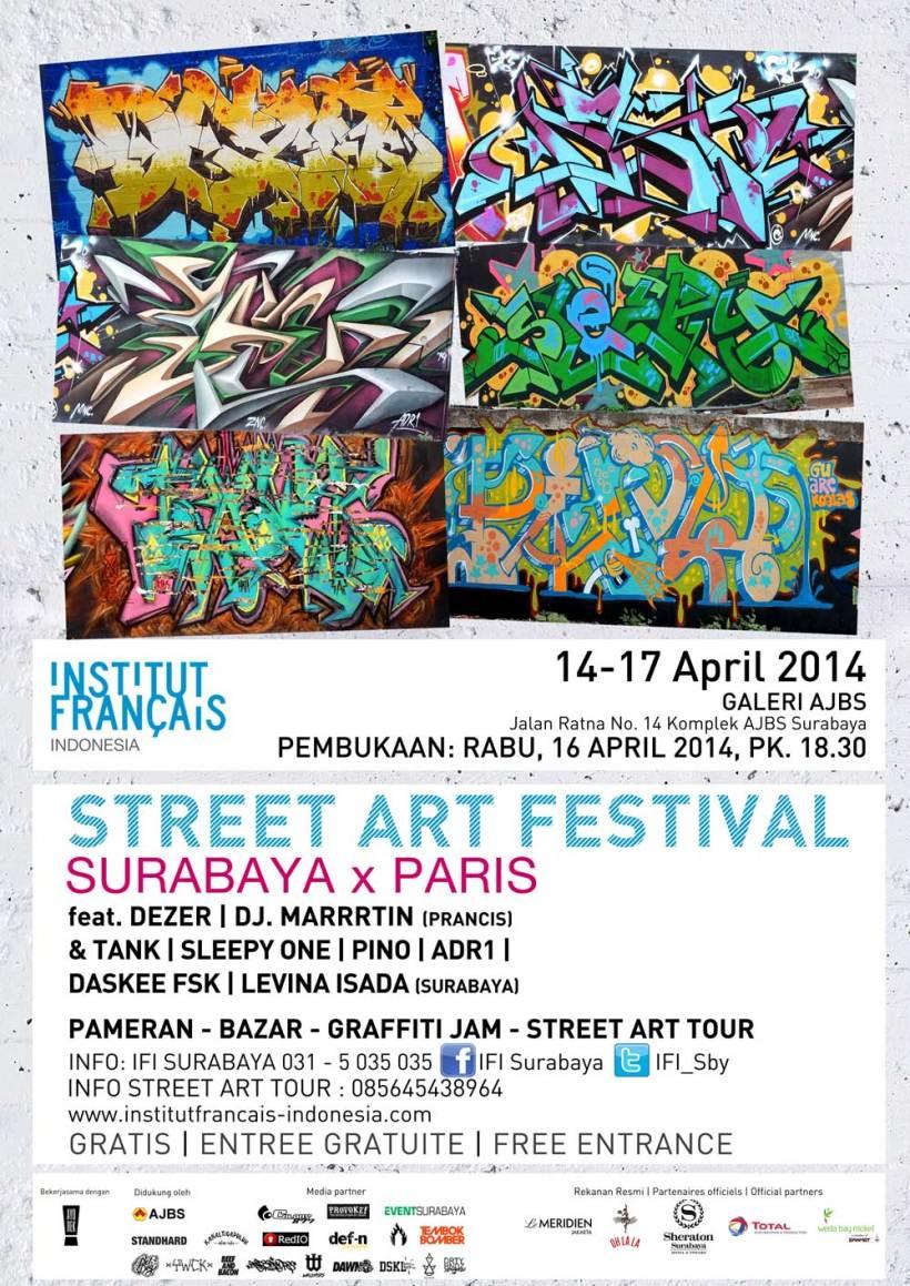 Street Art Festival-SurabayaParis
