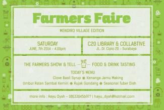 Farmers Faire Mediro Village Edition