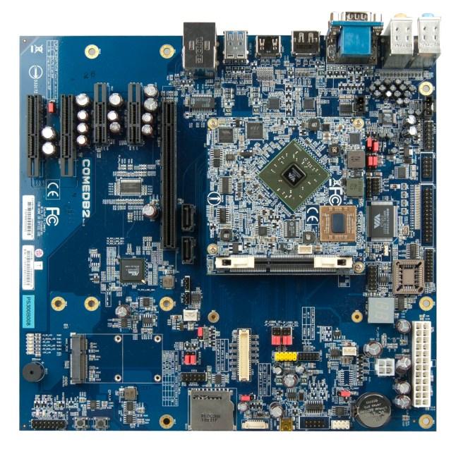 VIA COMe-8X92 - Module on Baseboard Top
