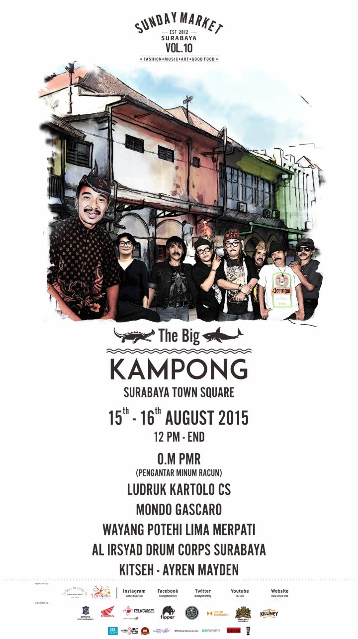 Sunday Market vol 10 The Big Kampong - web version