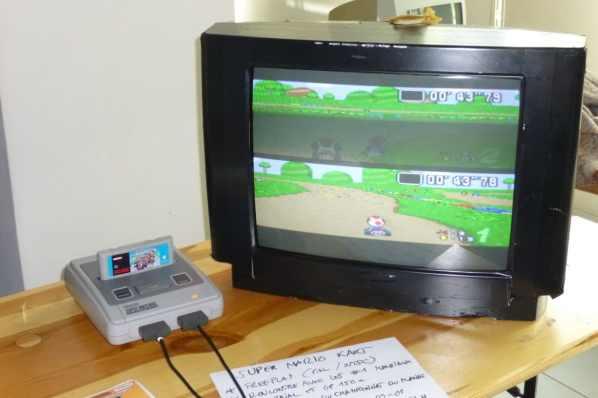 Stand Mario Kart