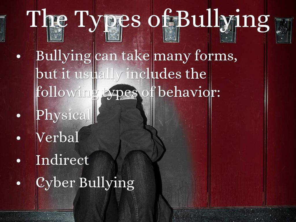 Is Your Child Being Bullied Types Of Bullying Discussed