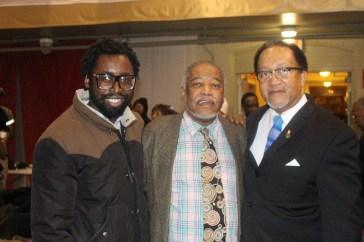 Ben Collins, Chuck Hicks, and Dr. Ben Chavis