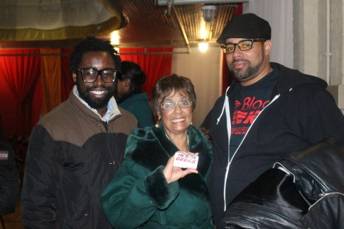 (L-R) Ben Collins, Ms. Frances, and Big Baba Rob