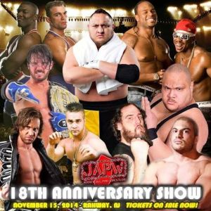 1flyer JAPW 18th Anniversary Show 11-15-14 Rahway NJ