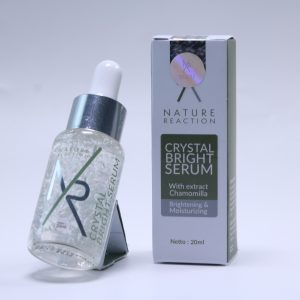 Serum Wajah Nature Wajah Glowing REACTION Serum whitening Serum Pemutih 20 ml (ORIGINAL 100%)
