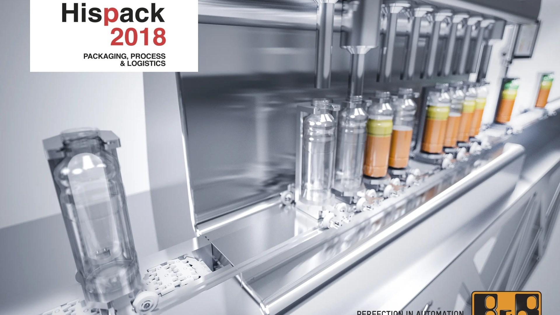 B&R lleva a la HISPACK la revolución en la fabricación adaptativa