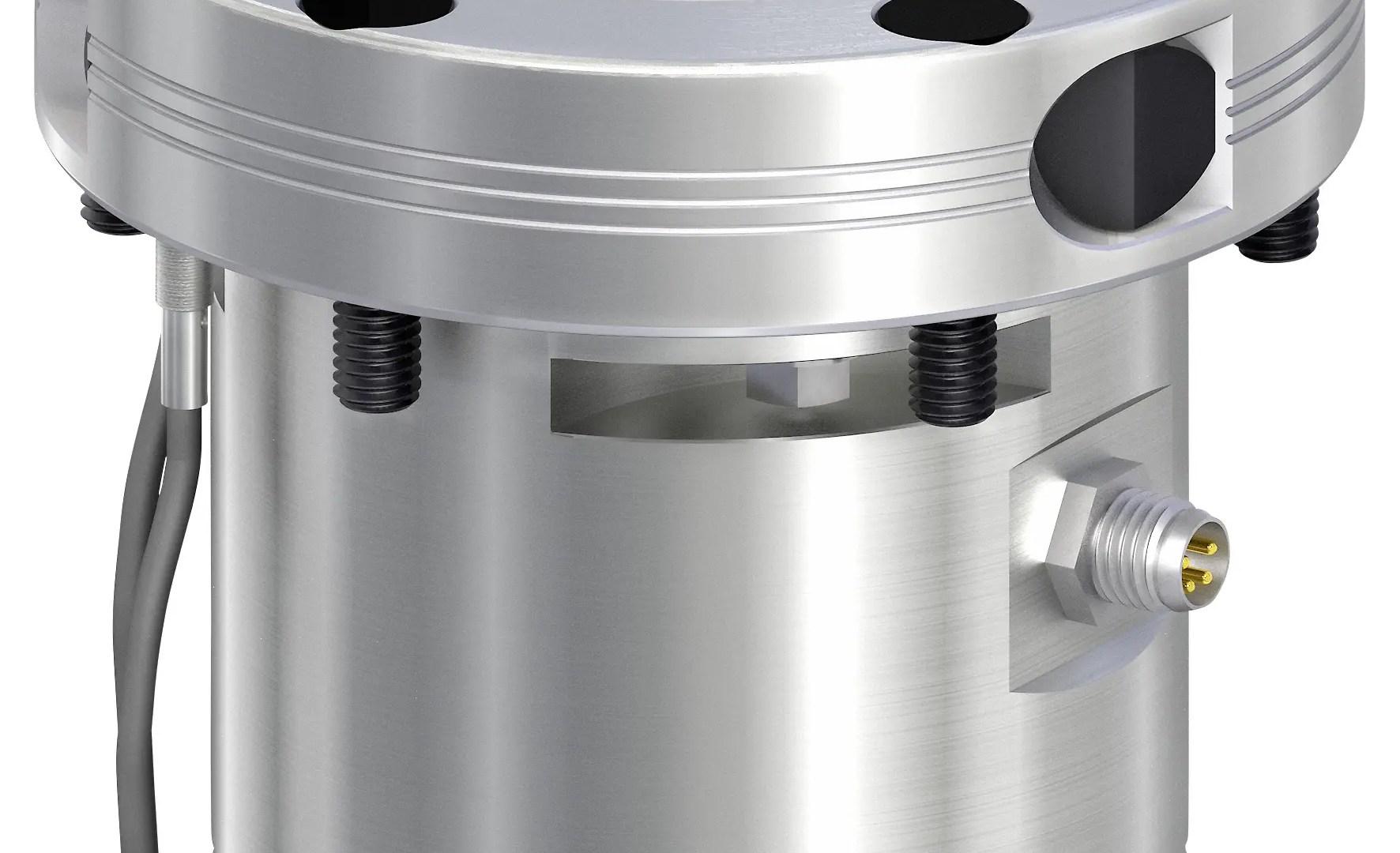 Módulo de sujeción eléctrico para tareas de fabricación, montaje, medición e impresión 3D