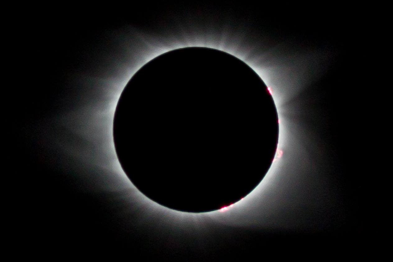 Total Solar Eclipse Knoxville, TN 2017 August 21