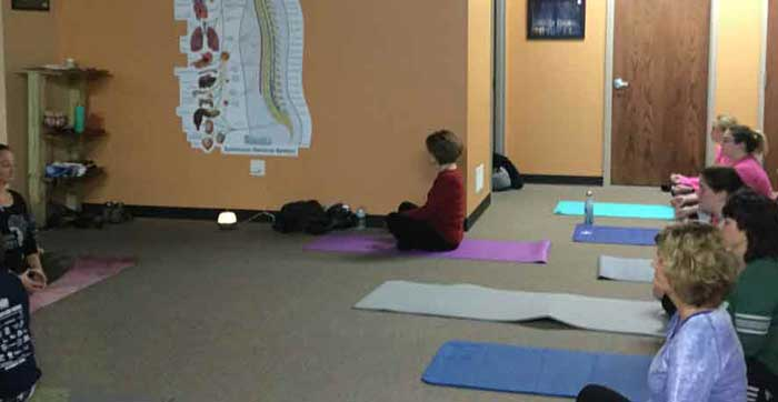 AYS Chiropractic Yoga Classes