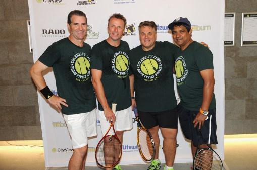 Kerry Heffernan, Marc Murphy, Francois Payard, and Floyd Cardoz