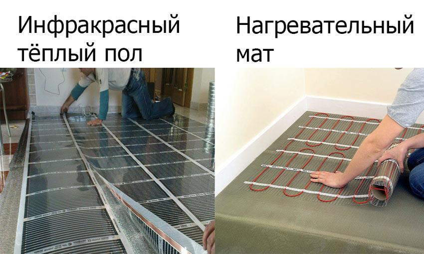 Lantai hangat listrik di bawah ubin melakukannya sendiri
