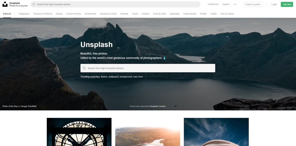 Unsplash-best-royalty-free-stock-photo-site