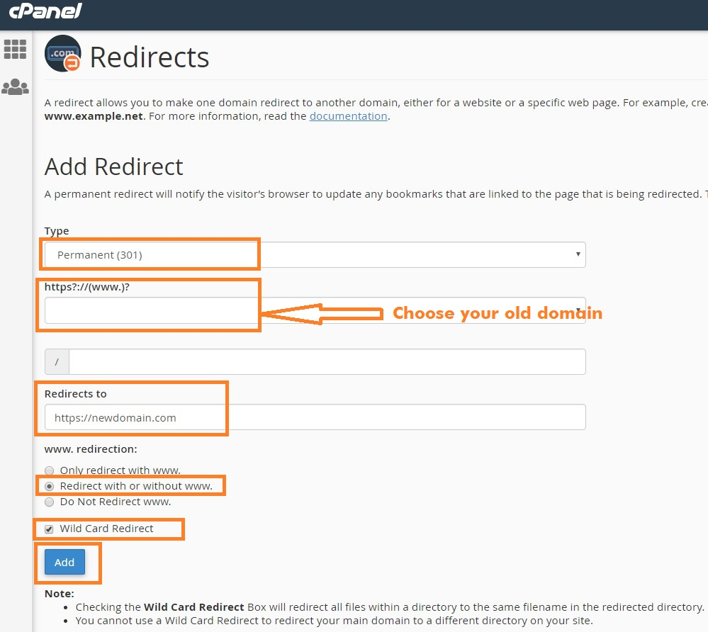 Redirects Details