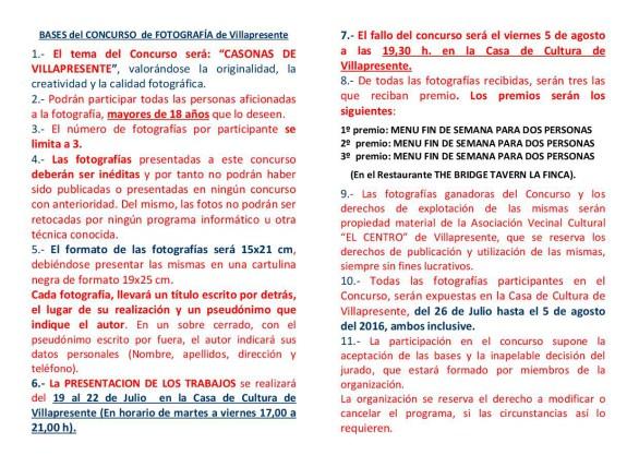 FOLLETO 2º CONCURSO folletoDE FOTOGRAFIA DE VILLAPRESENTE2