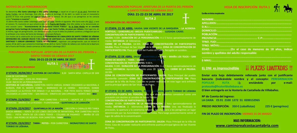 folleto1final peregrinacion 2017