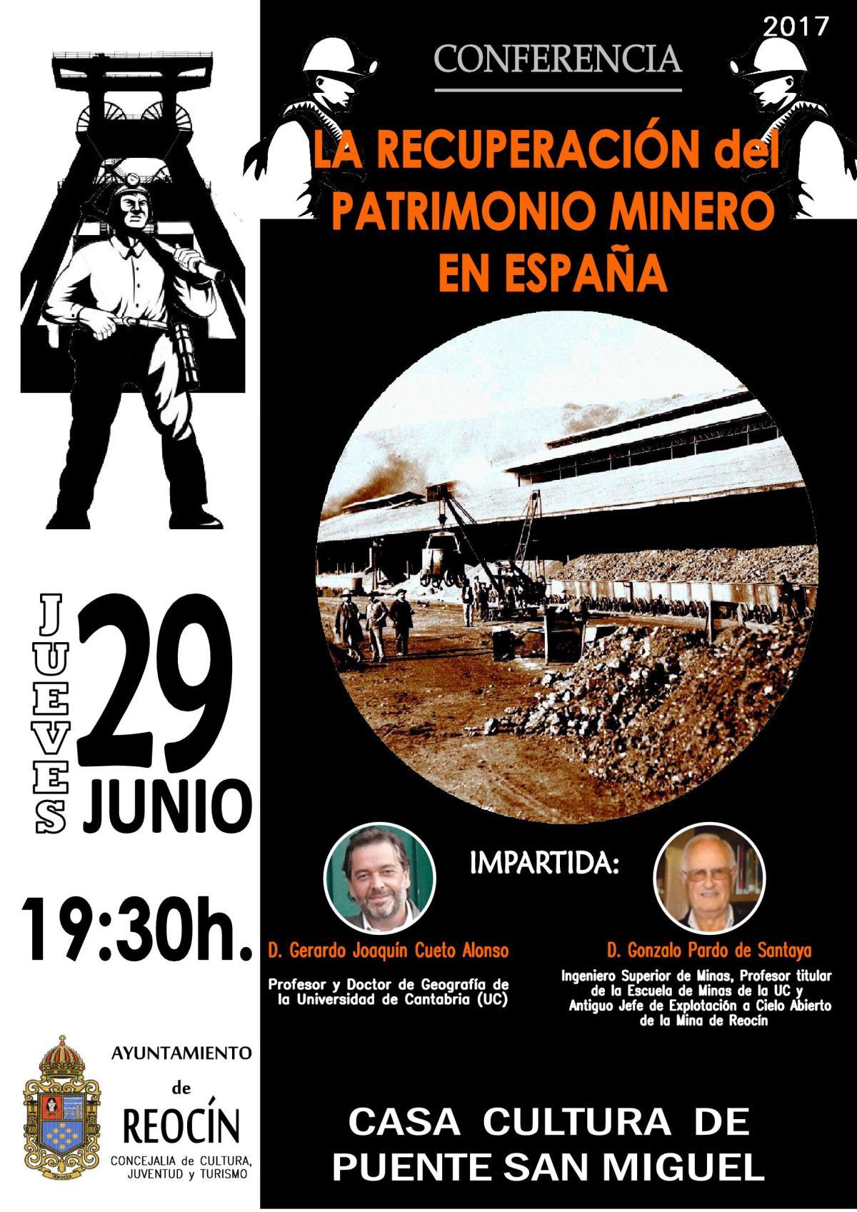 conferencia sobre la mina de reocin