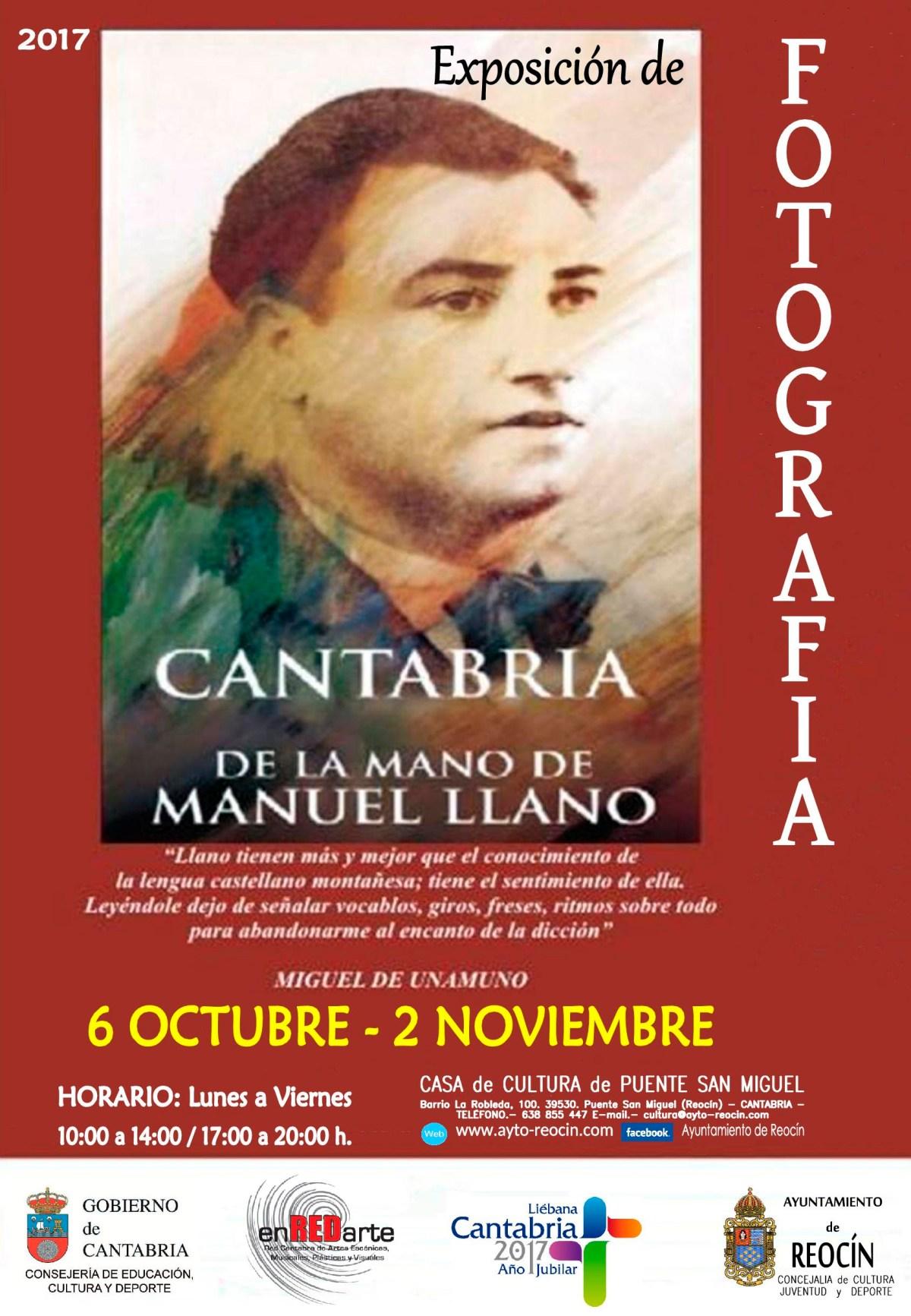 CARTEL EXPO DE FOTOGRAFIA CANTABRIA
