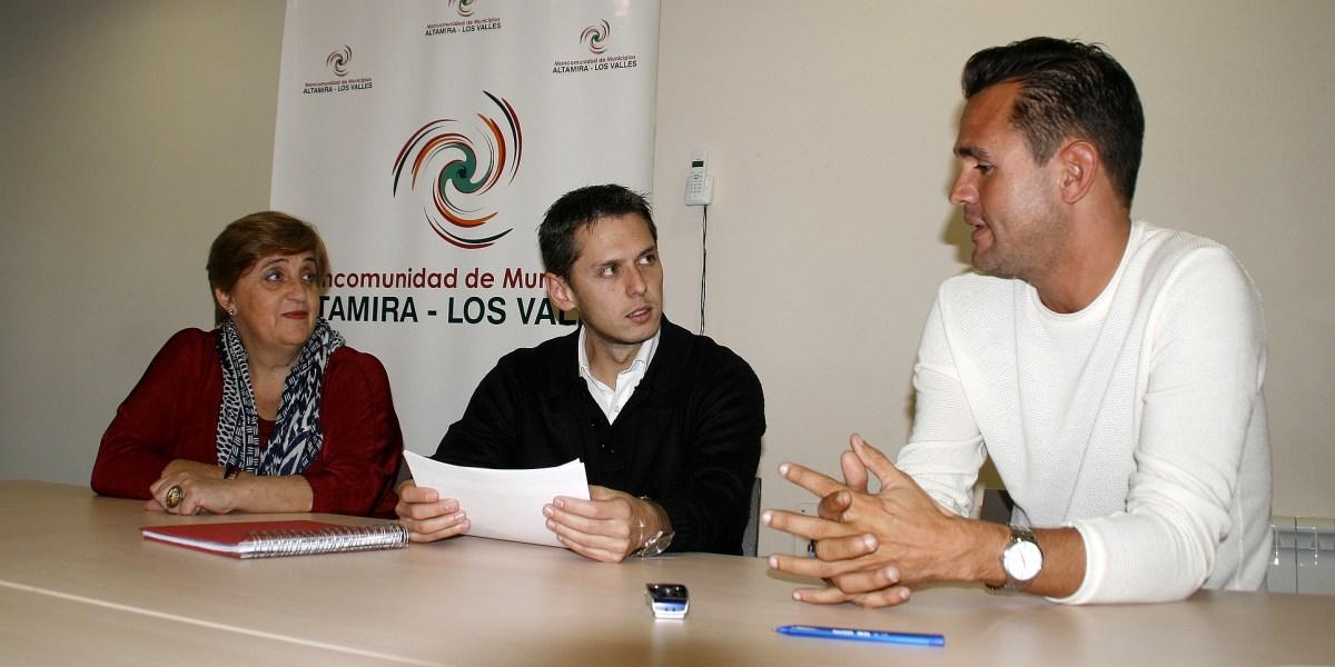 Carmen Terán Mario Iglesias y Alberto Marchante