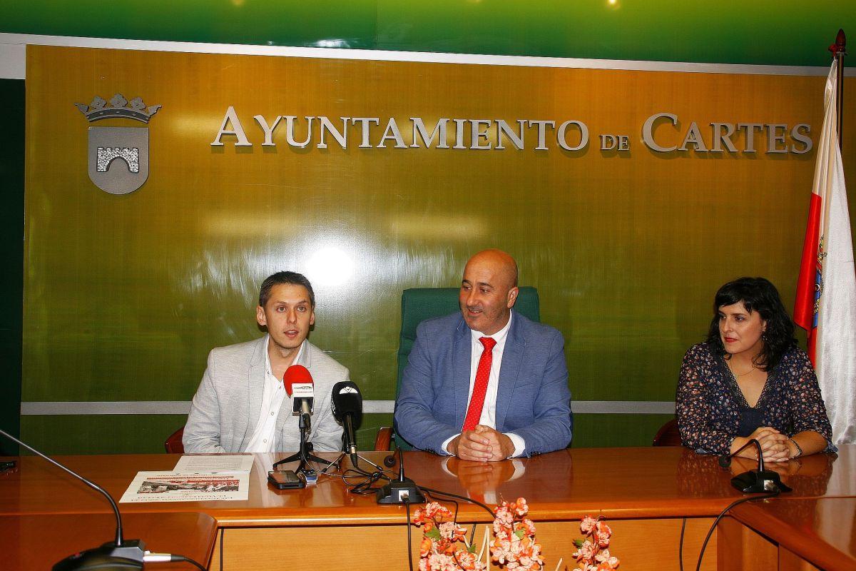 Mario Iglesias, Agustín Molleda y Lorena Cueto - Presentación campaña Mancomunados por la Igualdad y Contra la Violencia de Género