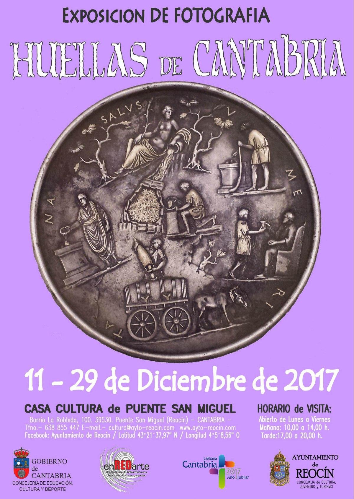 nuevo cartel expo huellas de cantabria 2017
