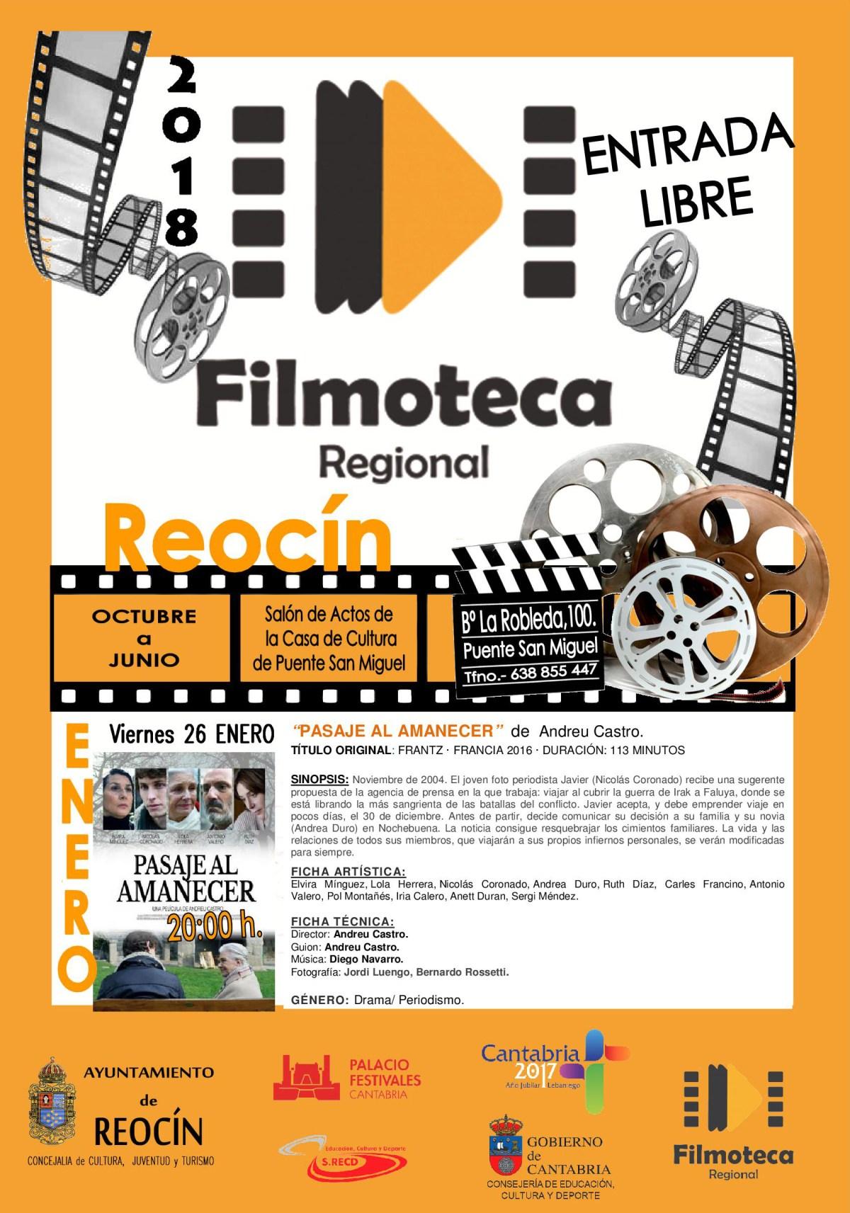 FILMOTECA 26 ENERO 2018