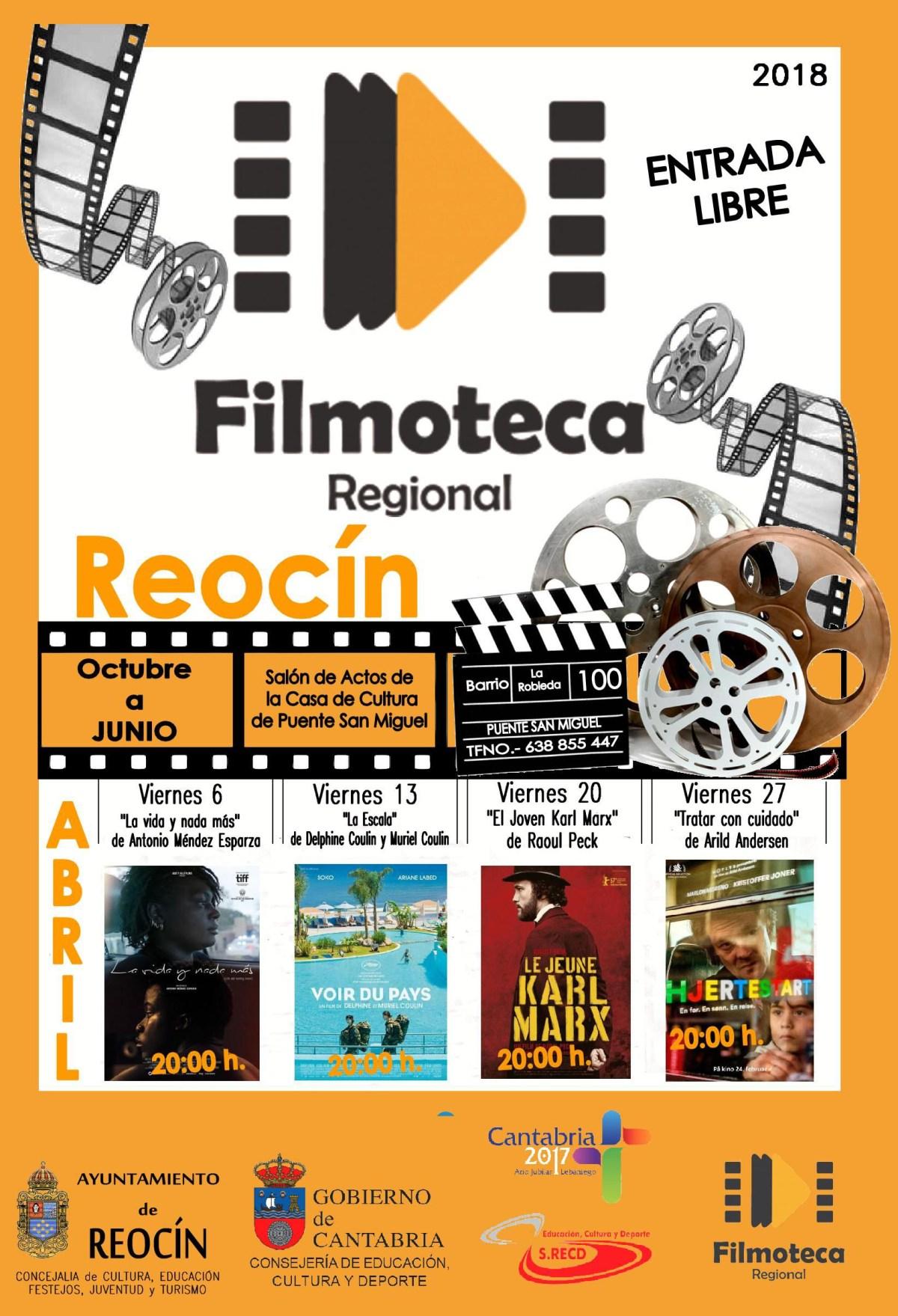 CARTEL PROYECCIÓN FILMOTECA ABRIL 2018