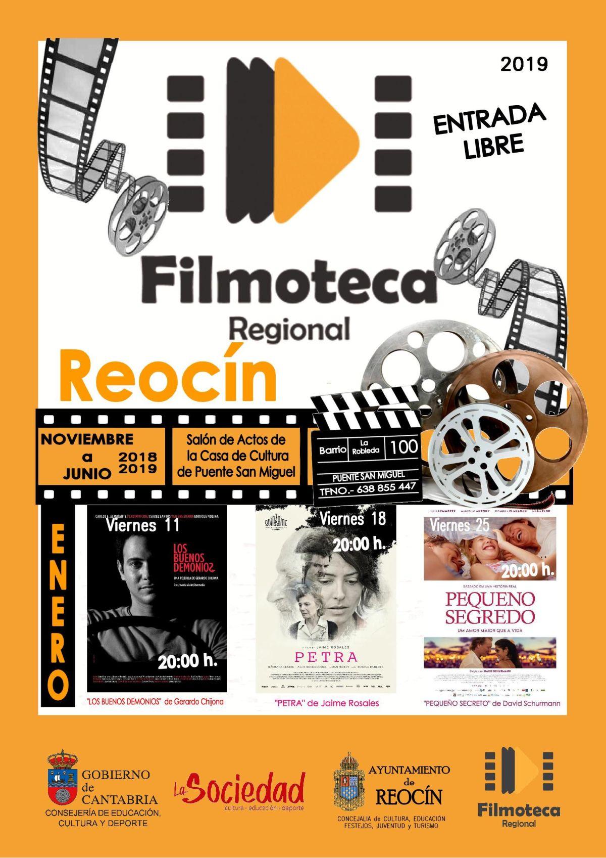 cartel filmoteca reocin enero 2019